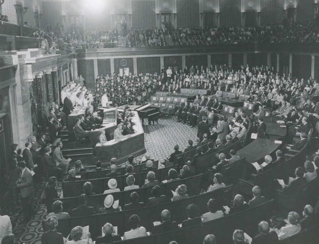 Concert for a Joint Session of the US Congress, in honor of President Truman's Centennial Celebration, Washington, DC