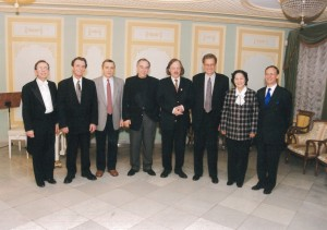 The Jury of the Vladimir Horowitz International Piano Competition, Kiev, Ukraine