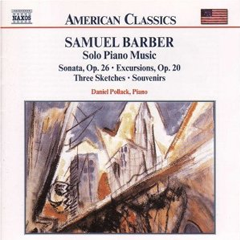 Complete Solo Piano Works of Samuel Barber